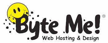 Byte Me! Web Hosting and Design logo